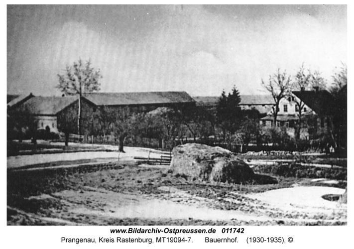 Prangenau, Bauernhof