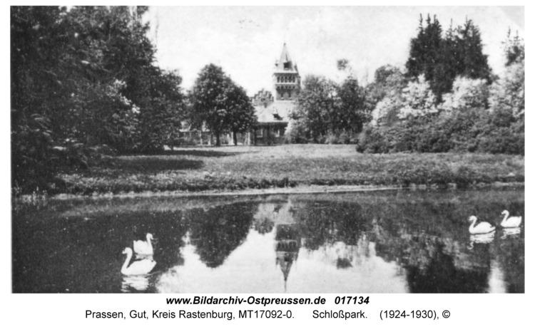 Prassen, Schloßpark