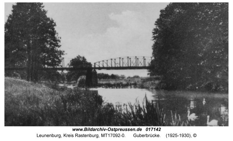 Leunenburg, Guberbrücke