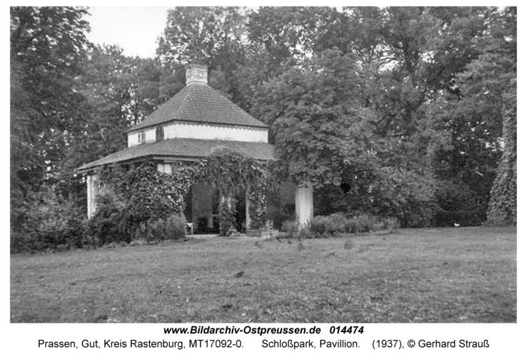 Prassen, Schloßpark, Pavillion