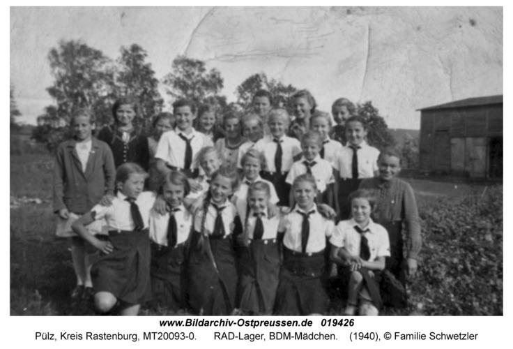 Pülz, RAD-Lager, BDM-Mädchen
