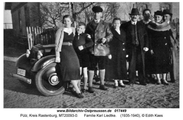 Pülz, Familie Karl Liedtke