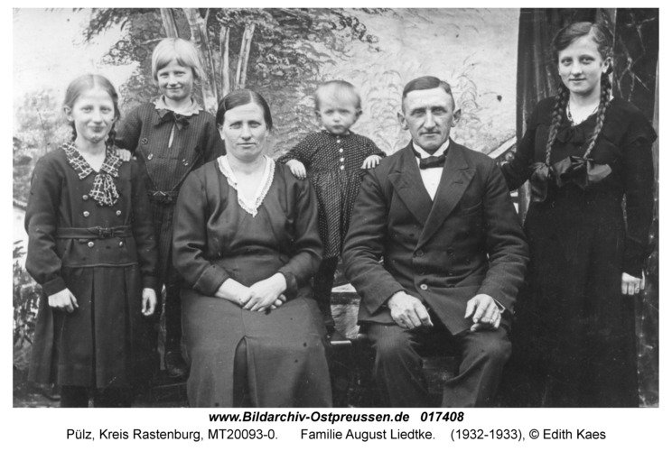 Pülz, Familie August Liedtke