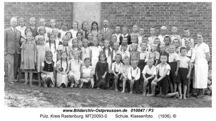 Pülz, Schule, Klassenfoto
