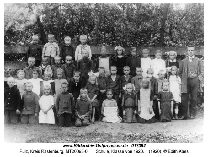 Pülz, Schule, Klasse von 1920