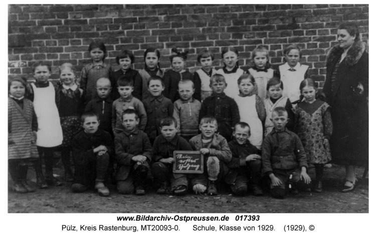 Pülz, Schule, Klasse von 1929