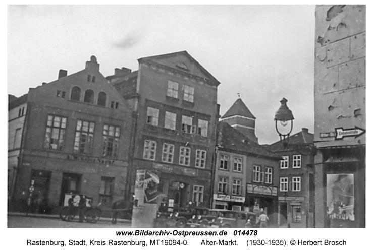 Rastenburg, Alter-Markt