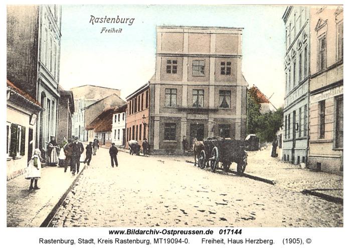 Rastenburg, Freiheit, Haus Herzberg