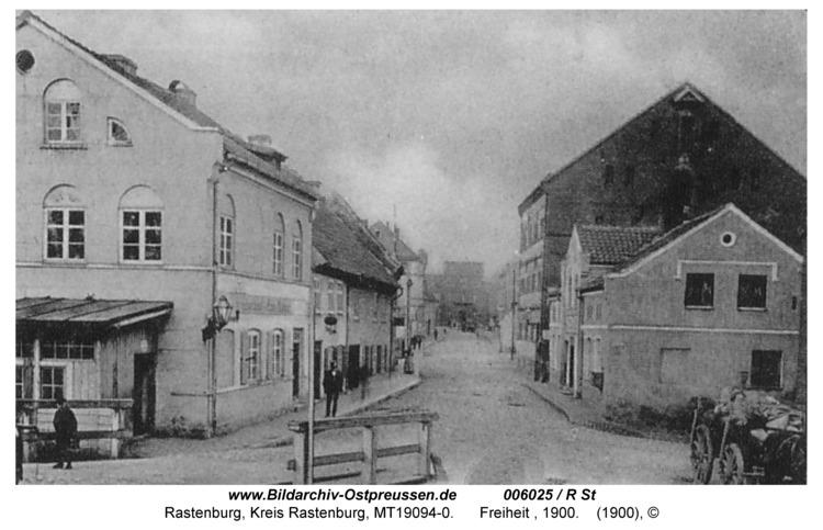 Rastenburg, Freiheit, 1900
