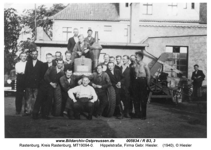 Rastenburg, Hippelstraße 24, Gebr. Hiesler