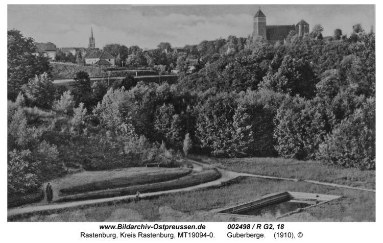 Rastenburg, Guberberge