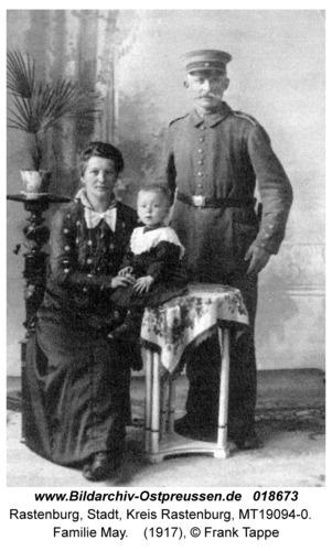 Rastenburg, Familie May