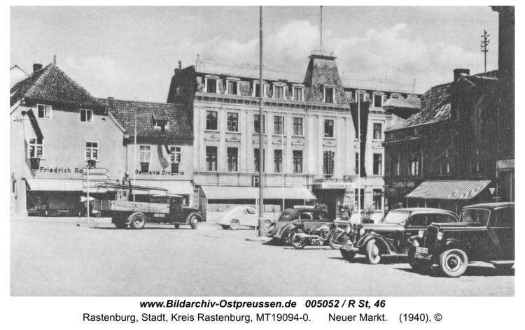 Rastenburg, Neuer Markt