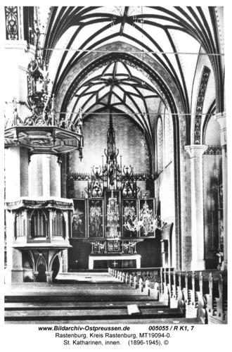 Rastenburg, Königsberger Straße, St. Katharinen, innen