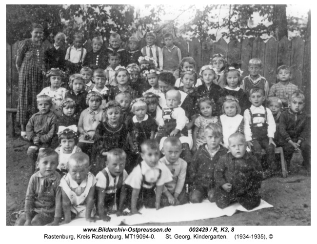 Rastenburg, St. Georg, Kindergarten