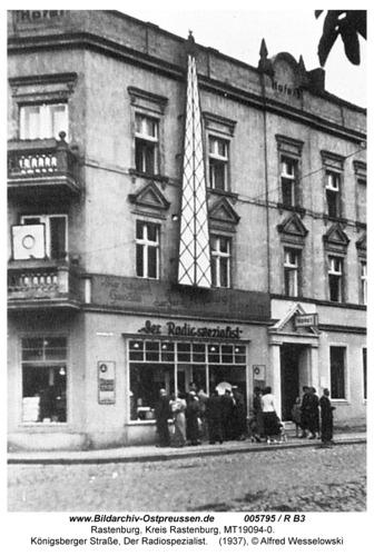 Rastenburg, Königsberger Straße 16, Der Radiospezialist