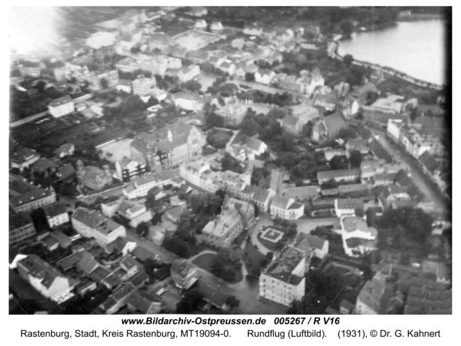 Rastenburg, Rundflug (Luftbild)