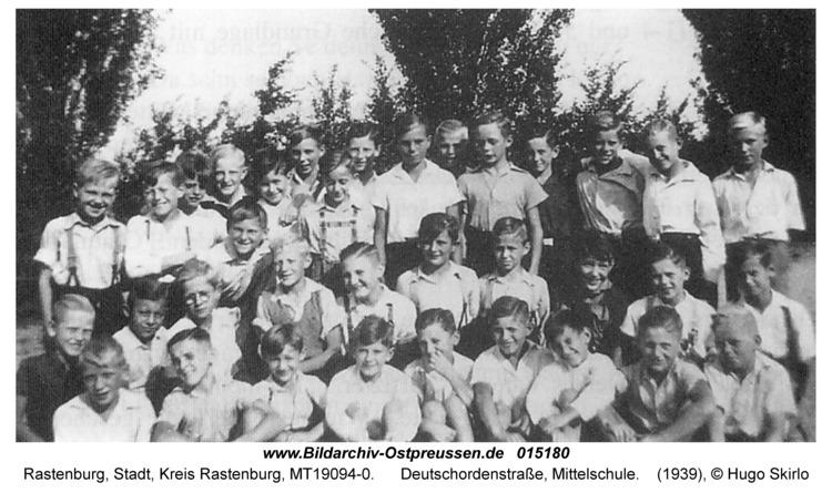 Rastenburg, Deutschordenstraße, Mittelschule