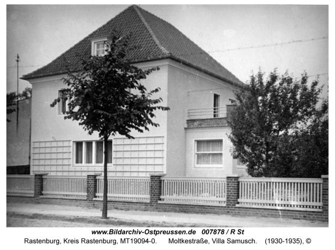Rastenburg, Moltkestraße, Villa Samusch