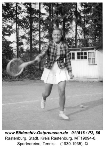 Rastenburg, Sportvereine, Tennis