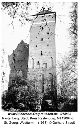 Rastenburg, St. Georg, Westturm