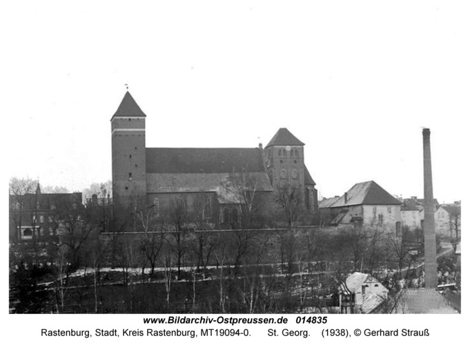 Rastenburg, St. Georg
