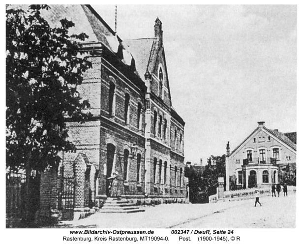 Rastenburg, Poststraße, Post- und Telegrafenamt