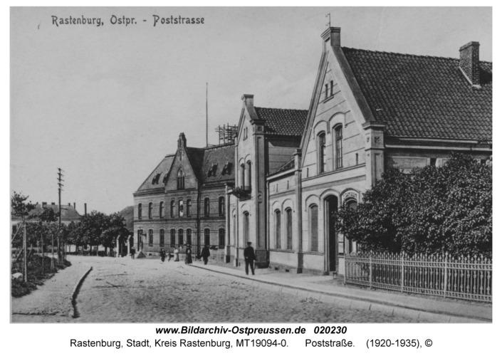 Rastenburg, Poststraße