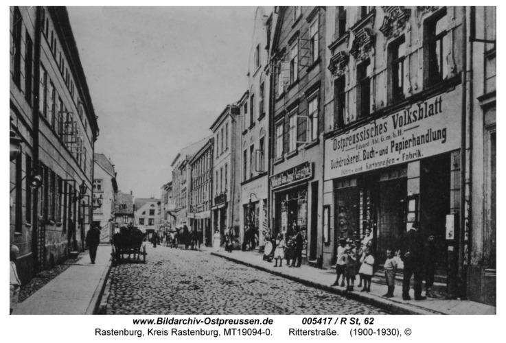 Rastenburg, Ritterstraße