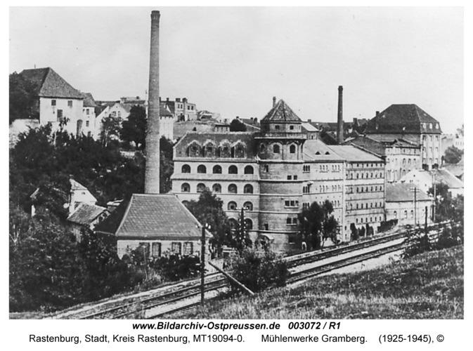 Rastenburg, Rastenbuger Mühlenwerke