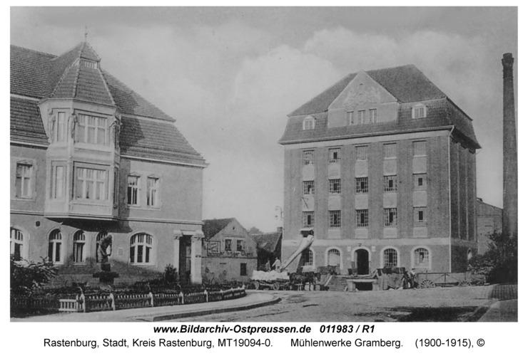 Rastenburg, Rastenburger Mühlenwerke