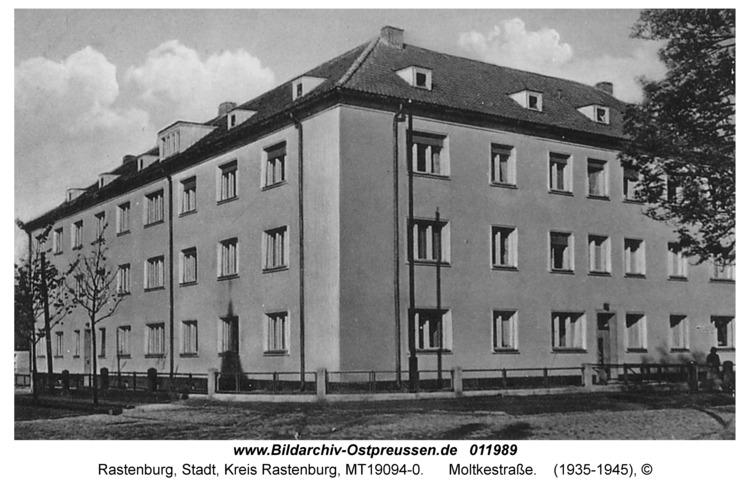 Rastenburg, Moltkestraße