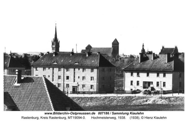 Rastenburg, Hochmeisterweg, 1938