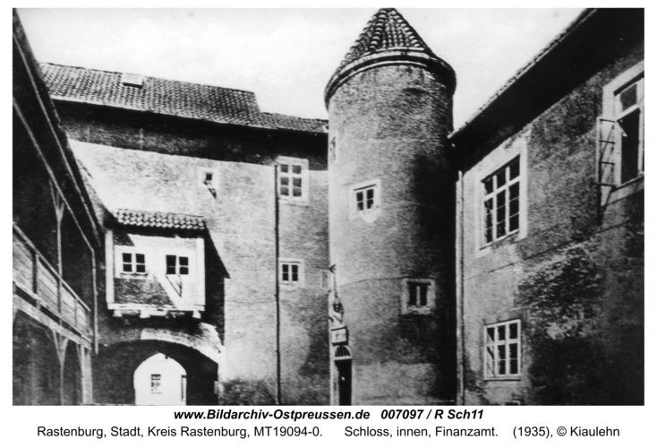 Rastenburg, Schloss, innen, Finanzamt