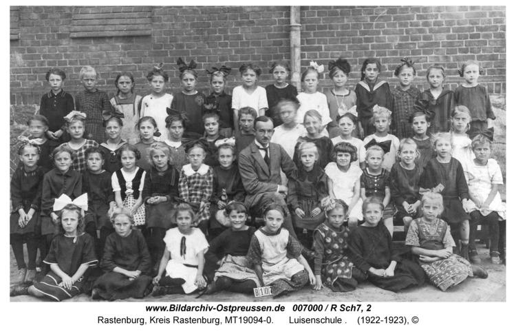 Rastenburg, Luisenschule