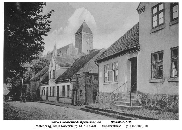 Rastenburg, Schillerstraße