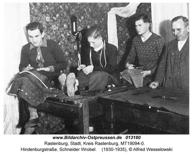 Rastenburg, Hindenburgstraße, Schneider Wrobel