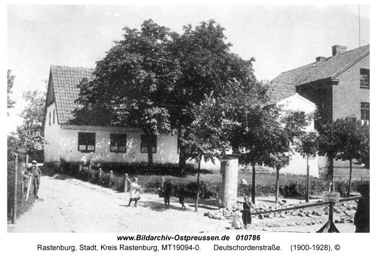 Rastenburg, Deutschordenstraße