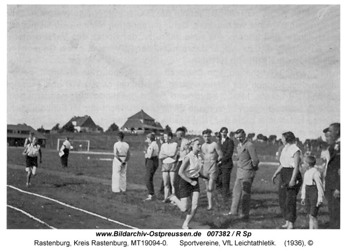 Rastenburg, Sportvereine, VfL Leichtathletik