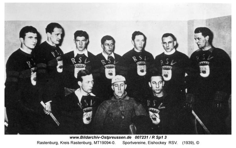 Rastenburg, Sportvereine, Eishockey RSV