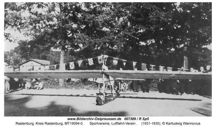 Rastenburg, Sportvereine, Luftfahrt-Verein