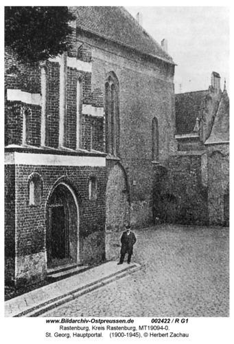 Rastenburg, St. Georg, Hauptportal
