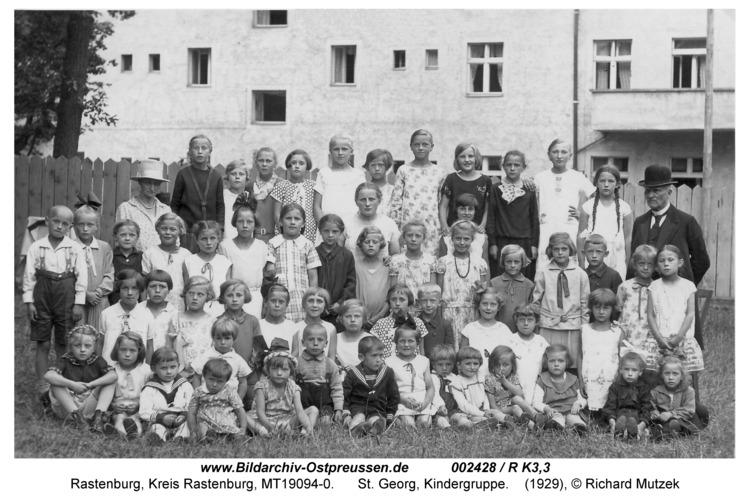 Rastenburg, St. Georg, Kindergruppe