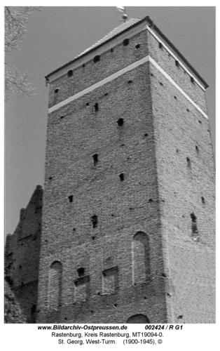 Rastenburg, St. Georg, West-Turm