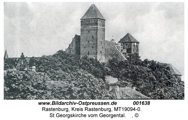 Rastenburg, St. Georg vom Georgenthal