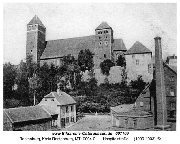 Rastenburg, Hospitalstraße