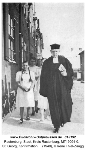 Rastenburg, St. Georg, Konfirmation