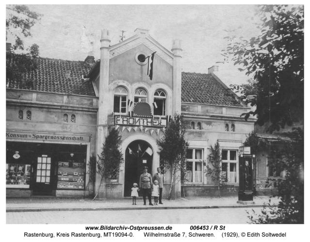 Rastenburg, Wilhelmstraße 7, Schweren
