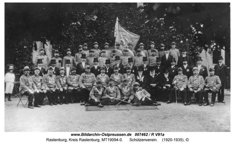 Rastenburg, Schützengilde