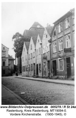 Rastenburg, Vordere Kirchenstraße